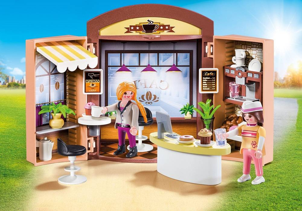 Playmobil Playmobil 9109 Coffee Shop Box