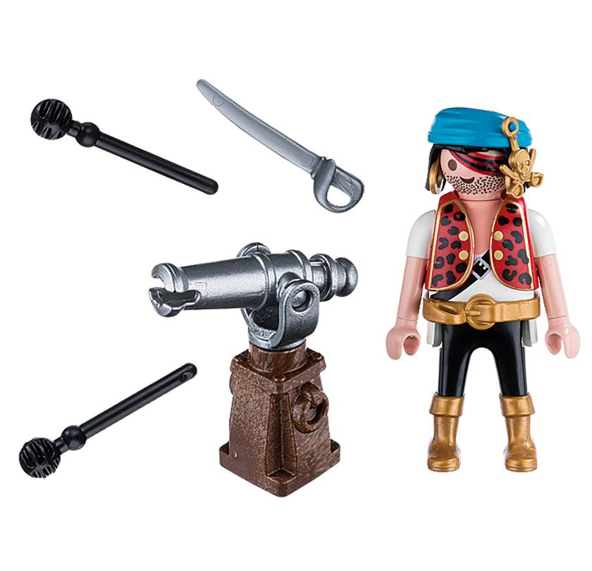 Playmobil Playmobil 5378 Pirate with Cannon