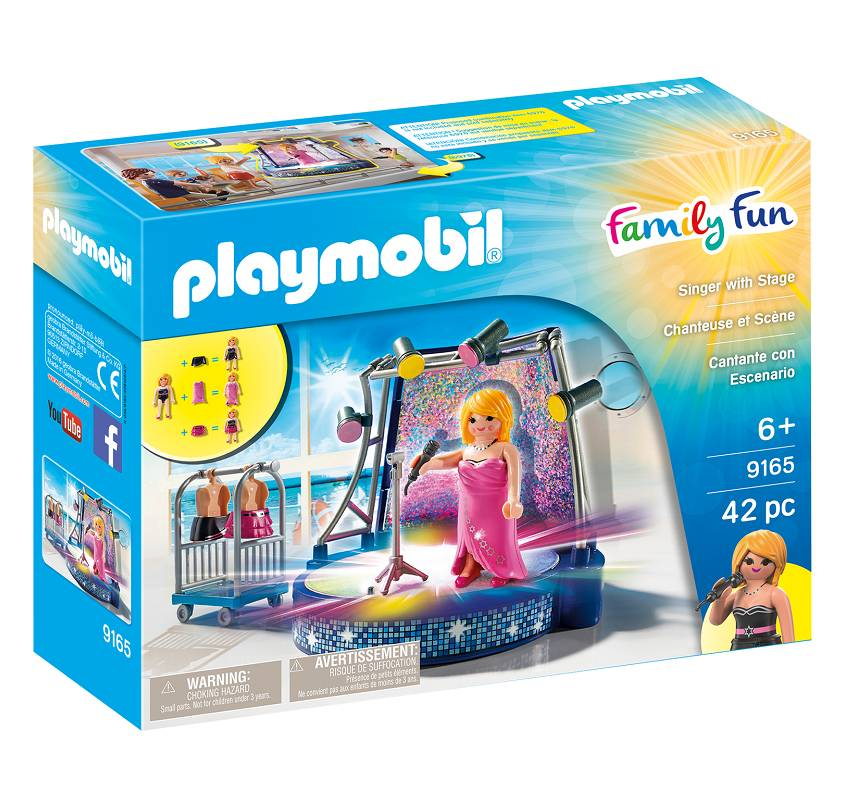 Playmobil Playmobil 9165 Singer with Stage