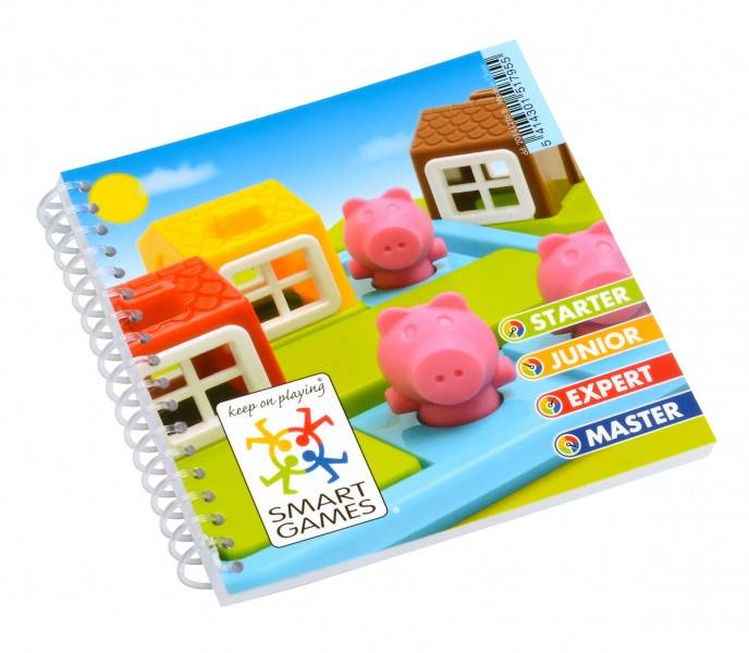 Smart Games Three little piggies - Logic game