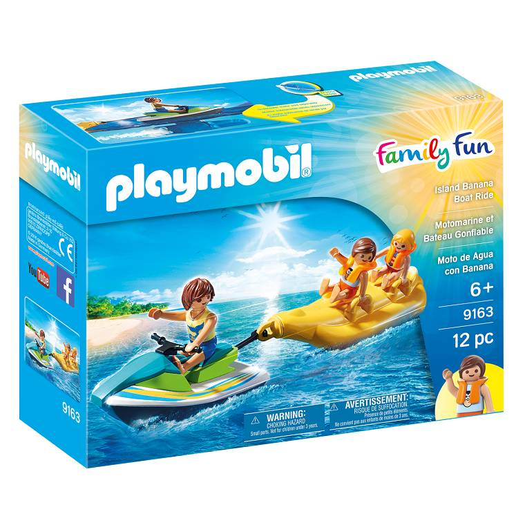 Playmobil Playmobil 9163 Island Banana Boat Ride
