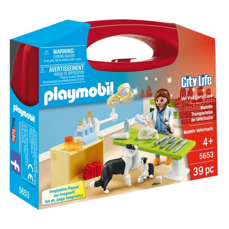 Playmobil Playmobil 5653 Vet Visit Carry Case