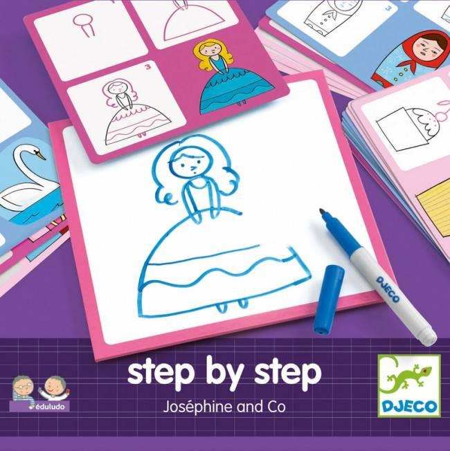 Djeco Djeco 08320 - step by step- Josephine