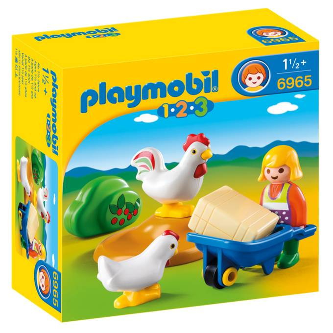 Playmobil Playmobil 6965 Farmer's Wife with Hens