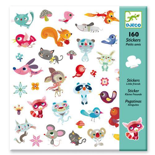 Djeco DJeco 08842 Stickers / Small Friends