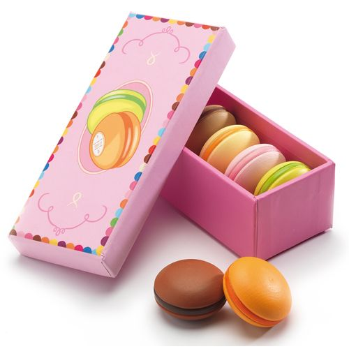 Djeco Djeco 06509 - Box of six macaroons