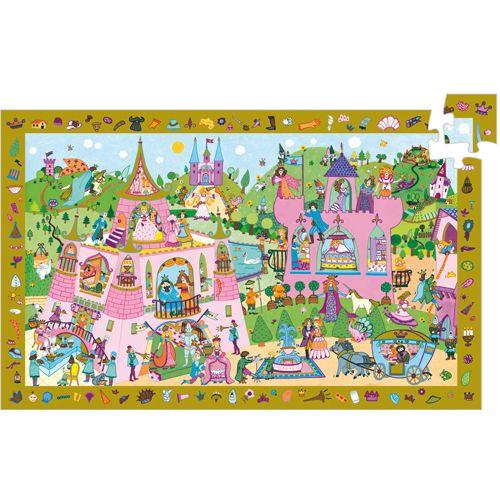 Observation puzzle / Princesses / 54 pcs