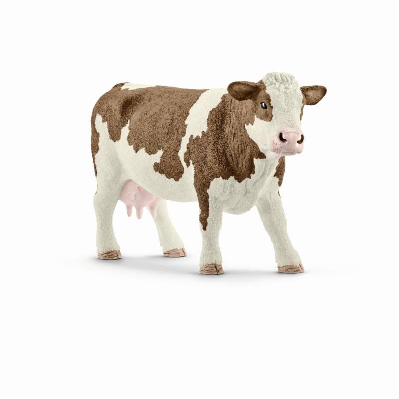 Schleich SCHLEICH 13801 - Simmental cow
