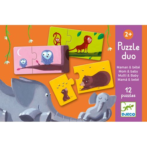 Djeco Puzzle duo / Mom and Baby