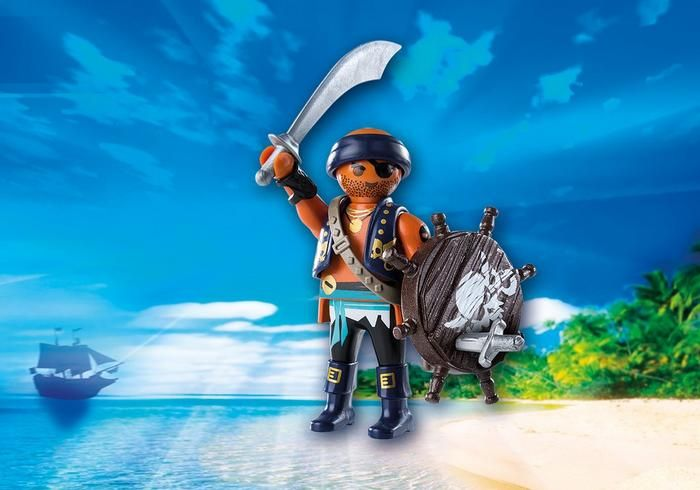 Playmobil Playmobil 9075 Pirate with Shield