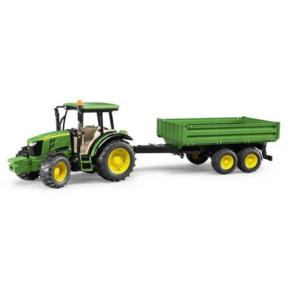 Bruder Bruder 09816 John Deere 5115M Tractor with Trailer