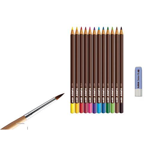 Djeco Djeco 08611 - Atelier crayons aquarellables