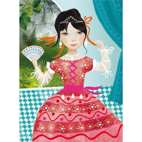 Djeco Djeco 08752 - Chalk Markers / Ribbon and Lace
