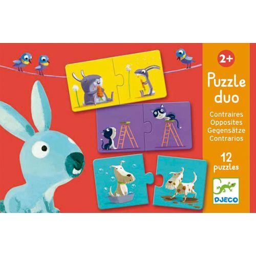 Djeco Djeco 08162 Puzzle duo / Opposites