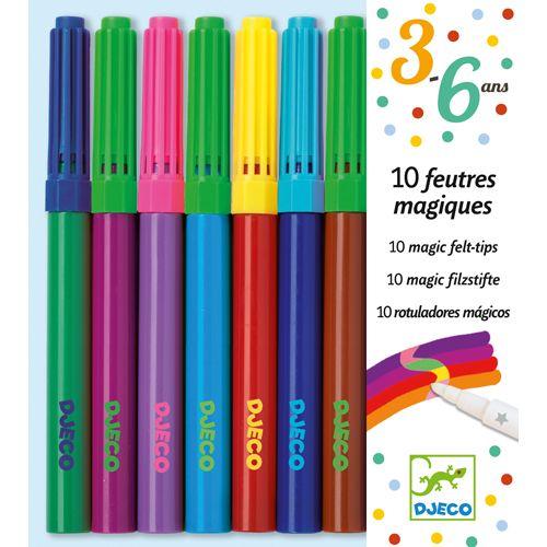Djeco Djeco 08827 10 magic felt-tips