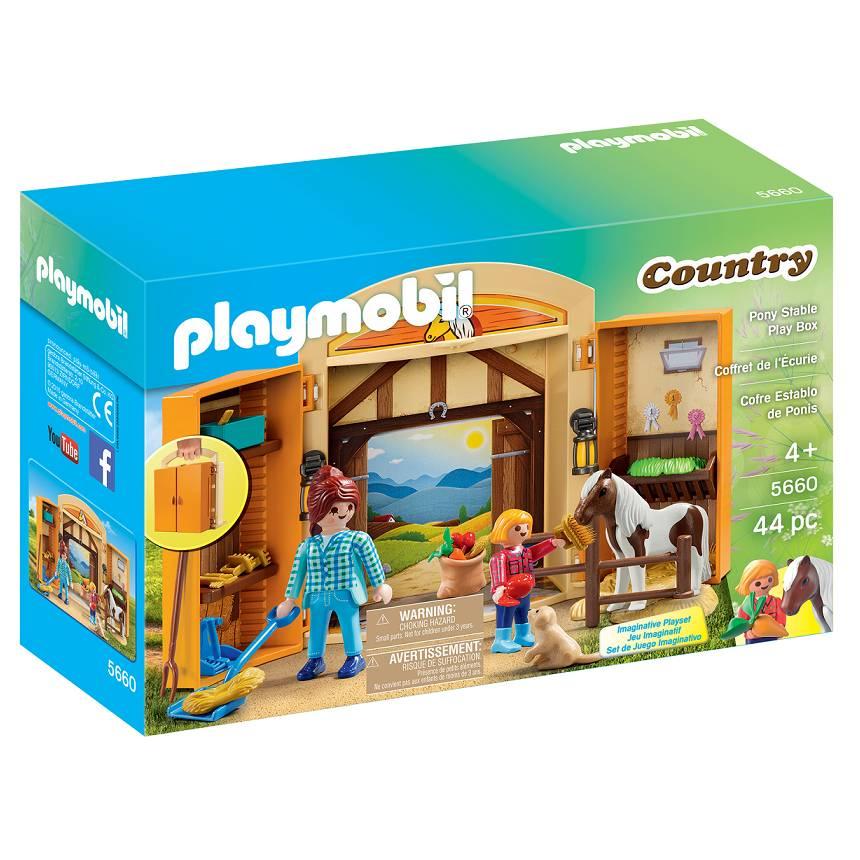 Playmobil Playmobil 5660 Pony Stable Play Box
