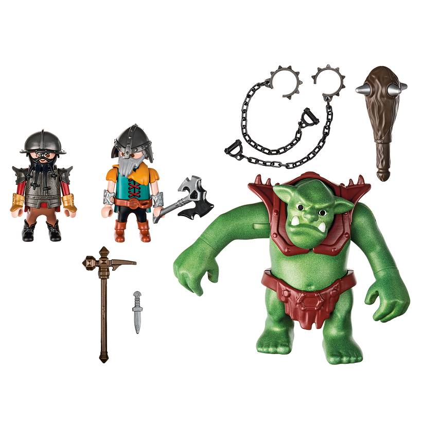 Playmobil Playmobil 6004 Giant Troll with Dwarf Fighters