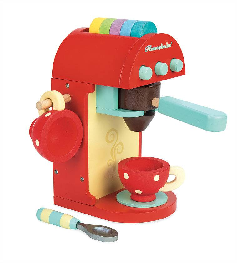 Le Toy Van Le Toy Van TV299R - Café Machine