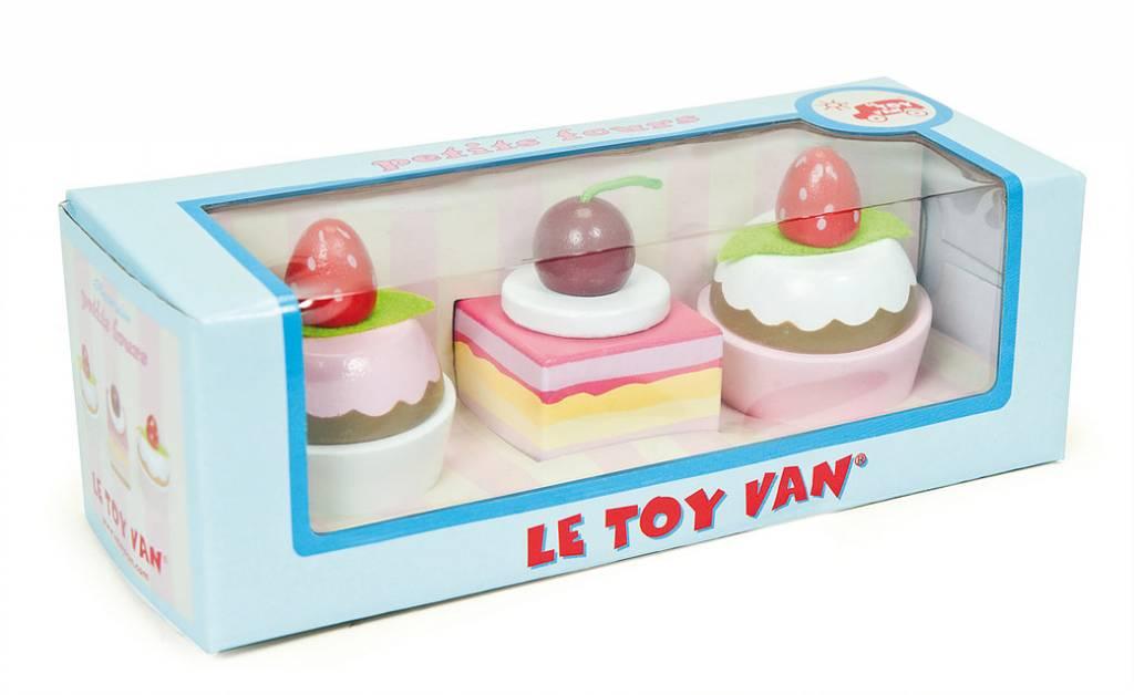 Le Toy Van Le Toy Van TV278 - Petit Fours ensemble de trois gateaux