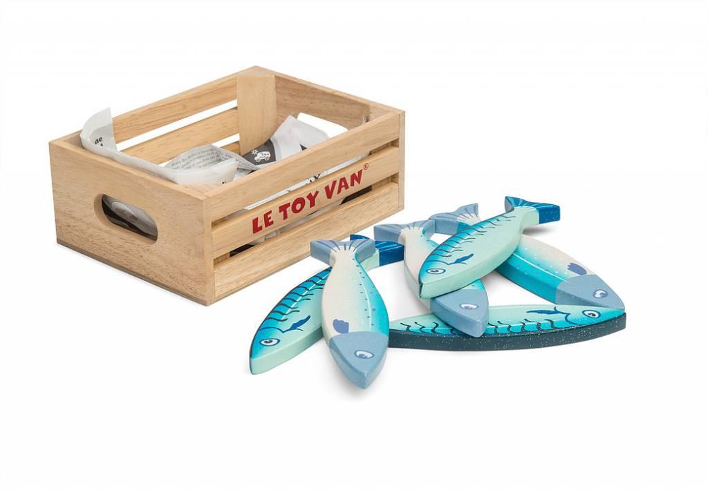 Le Toy Van Le Toy Van TV184 - Panier de poissons frais
