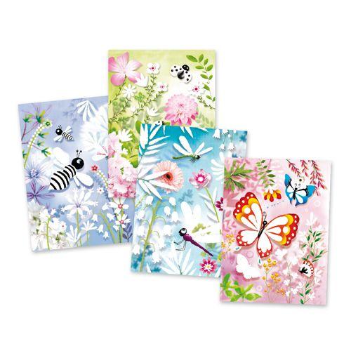 Djeco Djeco 09503 Glitter boards / Butterflies