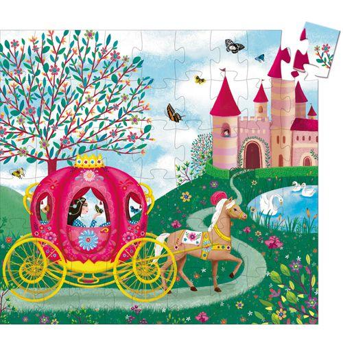 Djeco Djeco 07254 Silhouette puzzle / Elise's carriage / 54 pcs