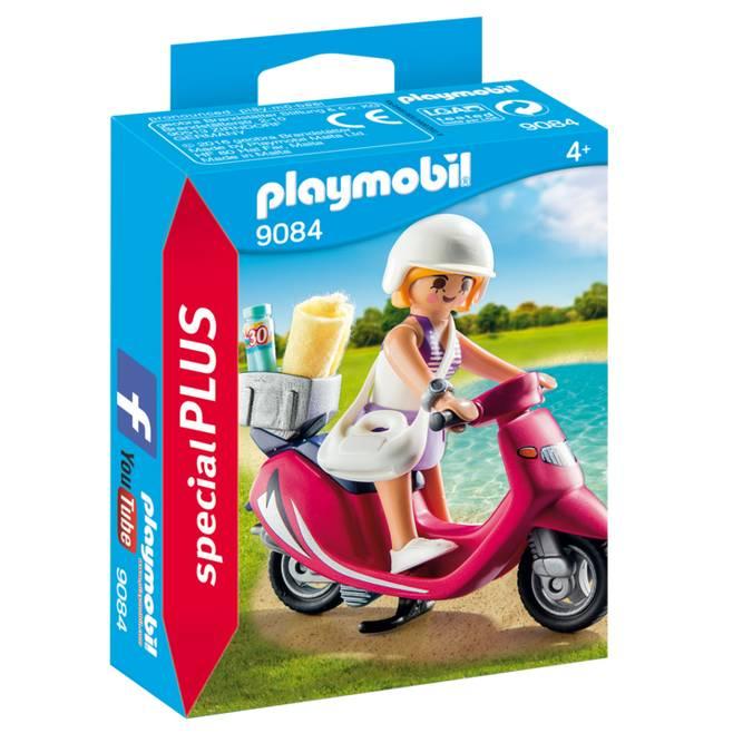 Playmobil Playmobil 9084 Beachgoer with Scooter