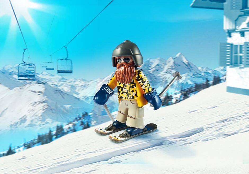 Playmobil Playmobil 9284 Skier with Poles
