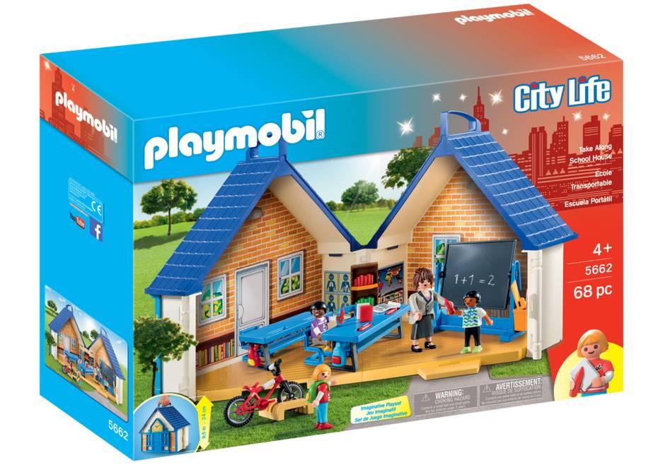 Playmobil Playmobil 5662 Ecole transportable