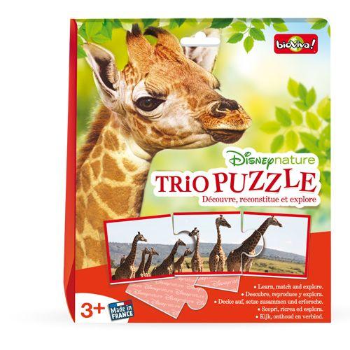 Bioviva DIS-TRIO-002 Disney nature / Trio puzzle