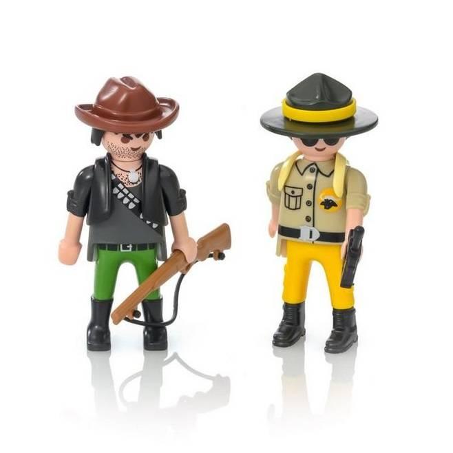 Playmobil Playmobil 9217 Ranger and Hunter