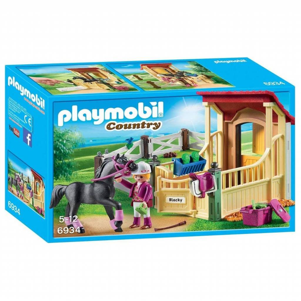 Playmobil Playmobil 6934 Horse Stable with Arabian