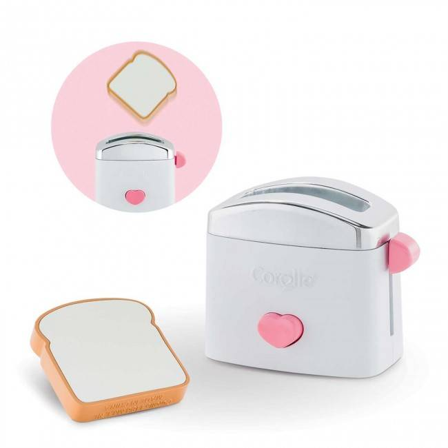 Corolle Corolle FRY52 Toaster and Toast Set