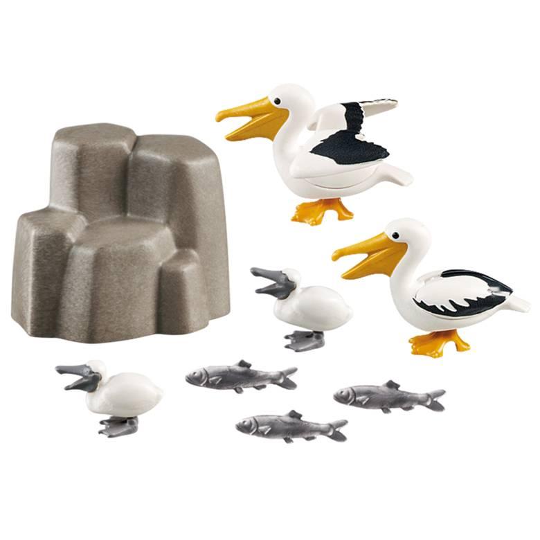 Playmobil Playmobil 9070 Famille de Pélicans