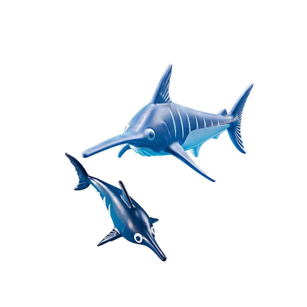 Playmobil Playmobil 9068 Swordfish with Baby