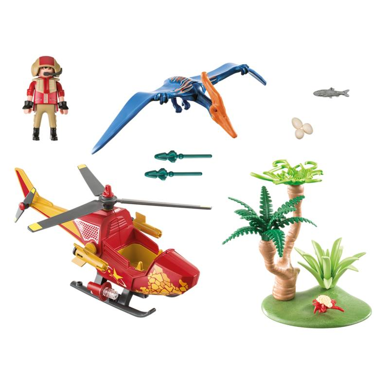 Playmobil Playmobil 9430 Adventure Copter and Pterodactyl