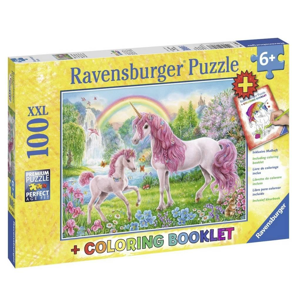 Ravensburger Ravensburger 13698 Magic Unicorns 100pcs