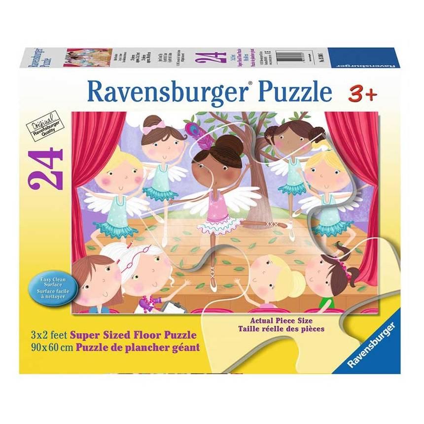 Ravensburger Ravensburger 05360 Ballet Beauties Floor Puzzle 24pcs