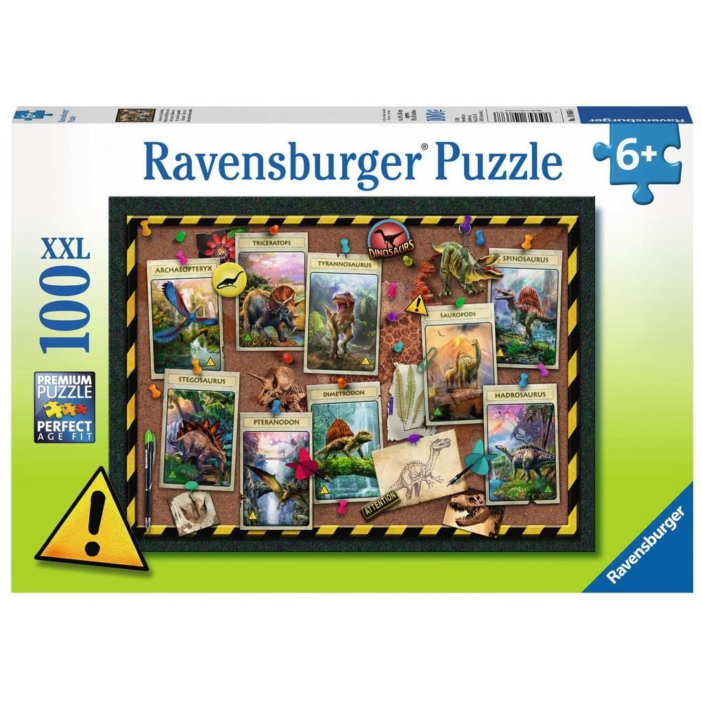 Ravensburger Ravensburger 10868 Dinosaur Collection 100pcs