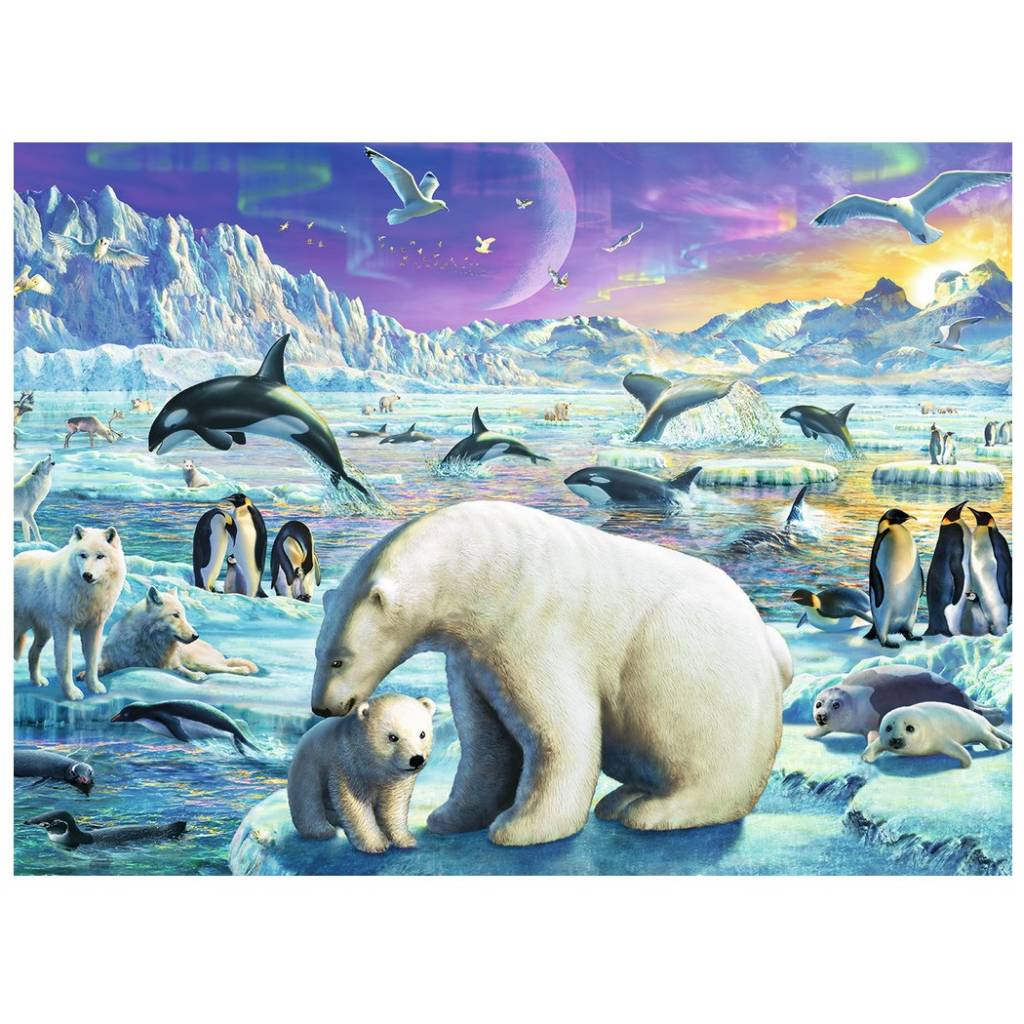 Ravensburger Ravensburger 13203 Polar Animals Gathering 300pcs