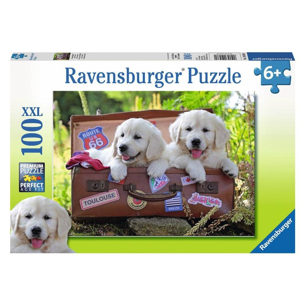 Ravensburger Ravensburger 10538 Traveling Pups 100pcs