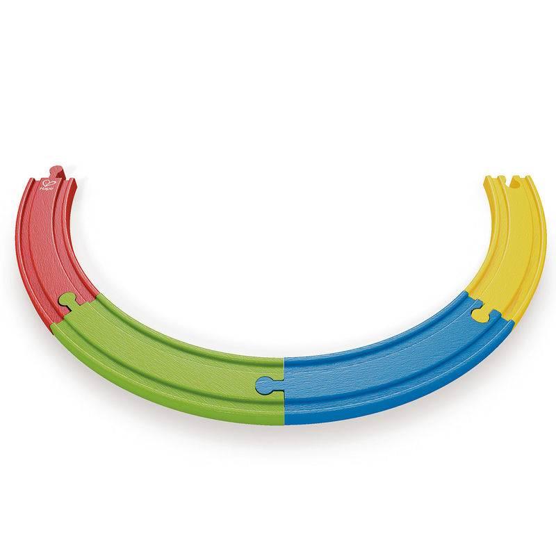Hape Hape E3804 Rainbow Track Pack