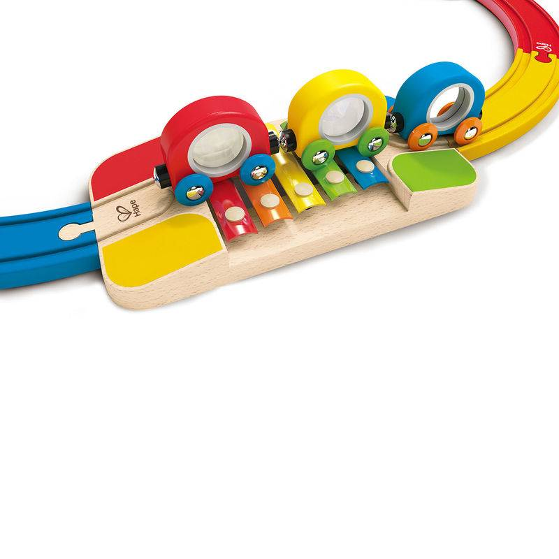 Hape Hape E3815 Sights & Sounds Railway