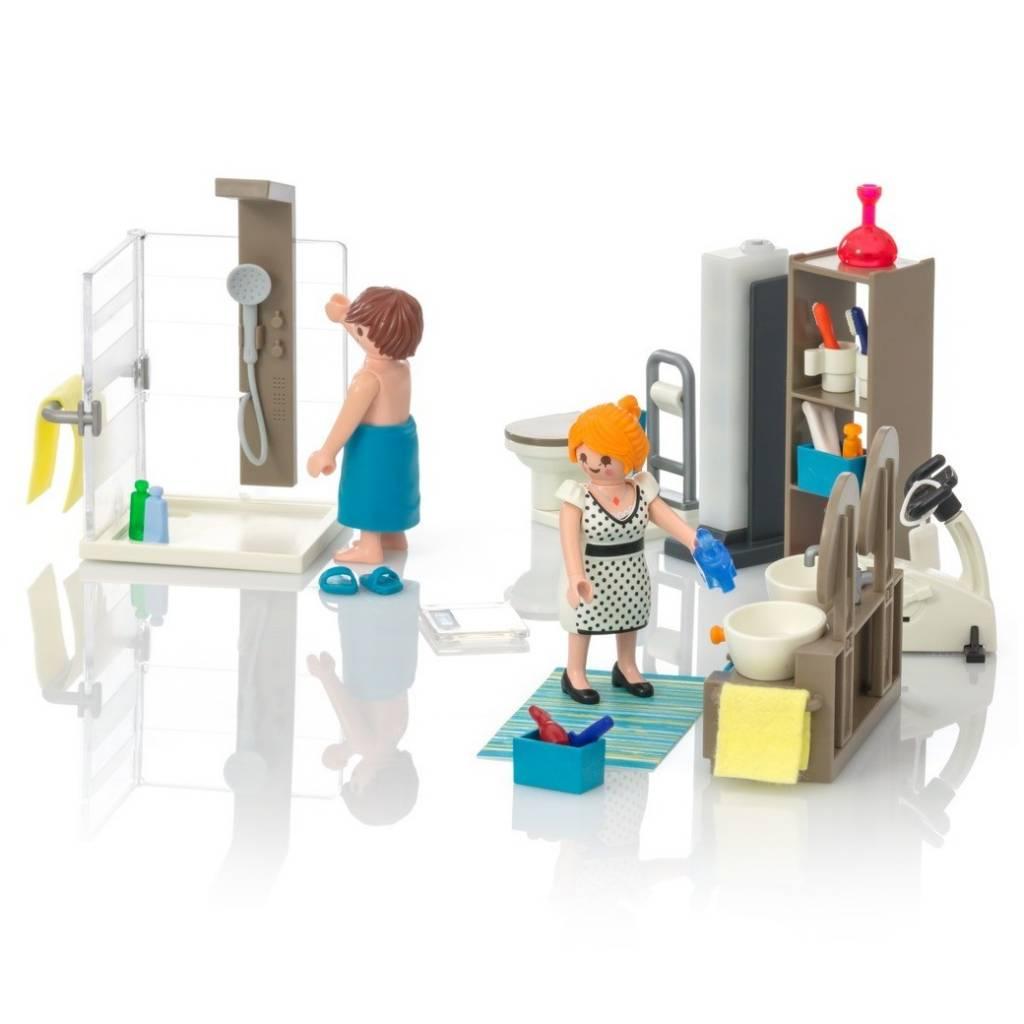 Playmobil Playmobil 9268 Salle de Bain avec Douche à l'Italienne