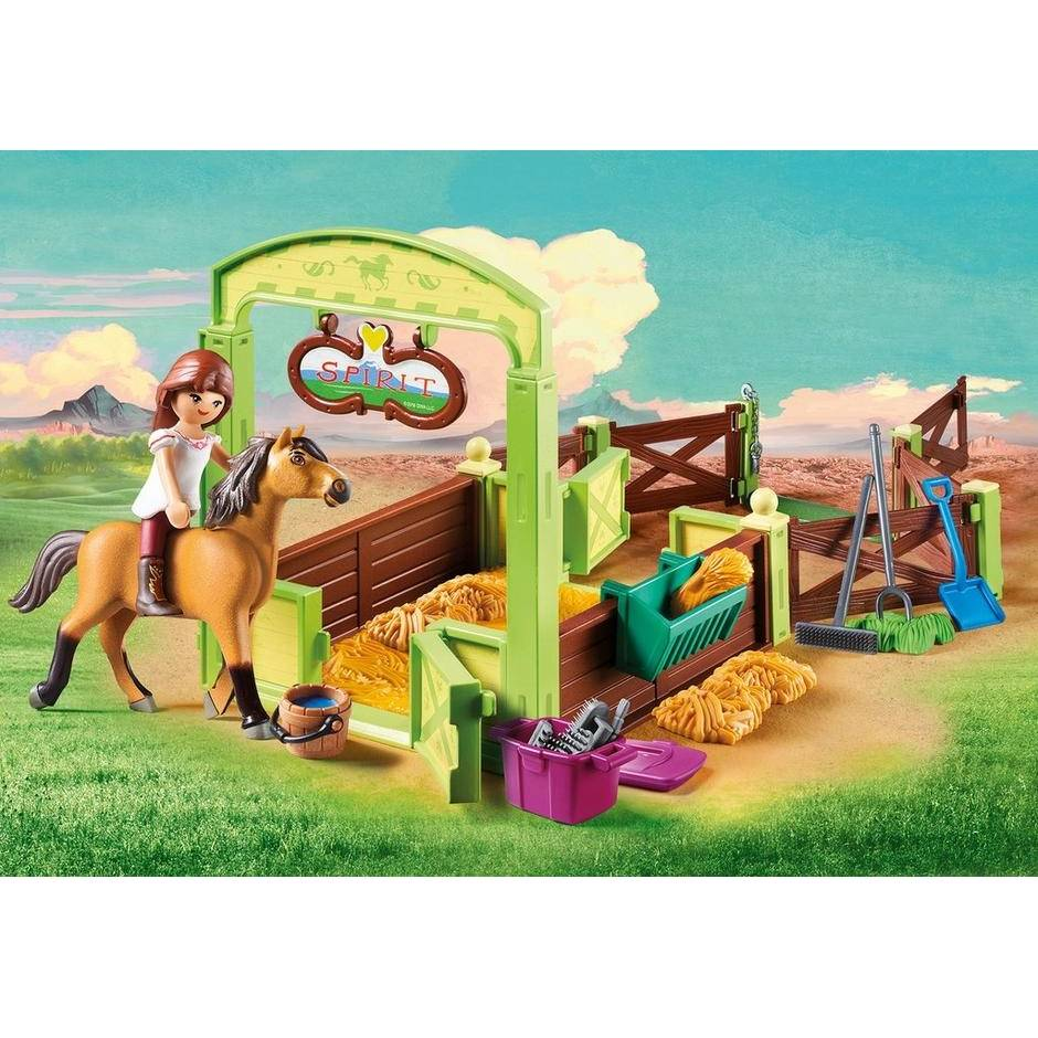 Playmobil Playmobil 9478 Lucky and Spirit with Box