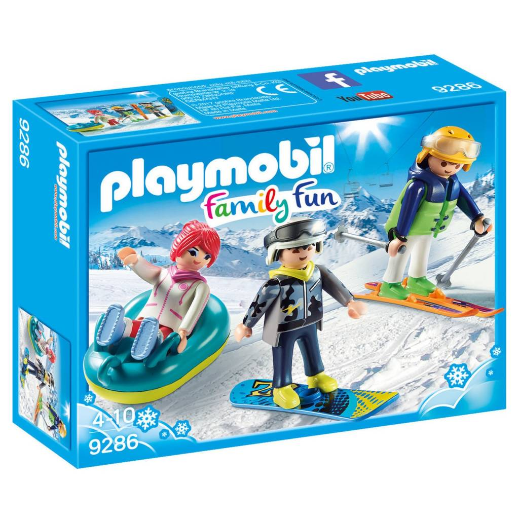 Playmobil Playmobil 9286 Winter Sports Trio