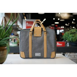 HAMPTON GREY LAPTOP BAG