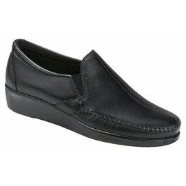 DREAM BLACK black leather none lace loafer