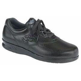 FREETIME BLACK black leather laced shoe