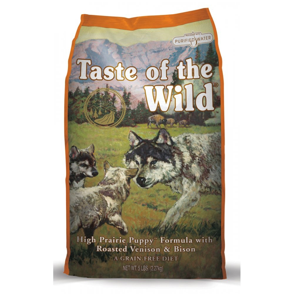Taste Of The Wild Taste of the Wild high prairie bison and venison puppy dry dog food